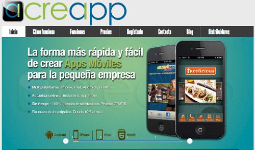 crear una aplicación con Creapp