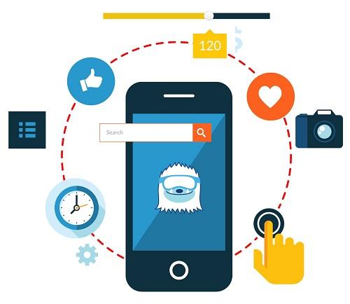 funcionalidad de creación de aplicaciones moviles