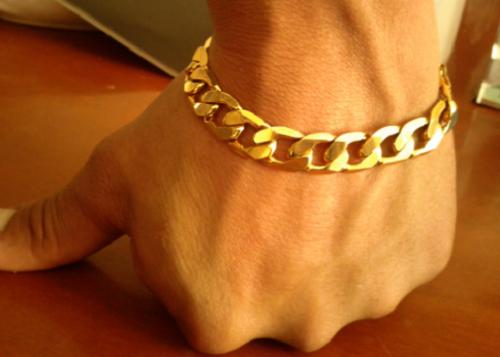 Cadena de oro puro