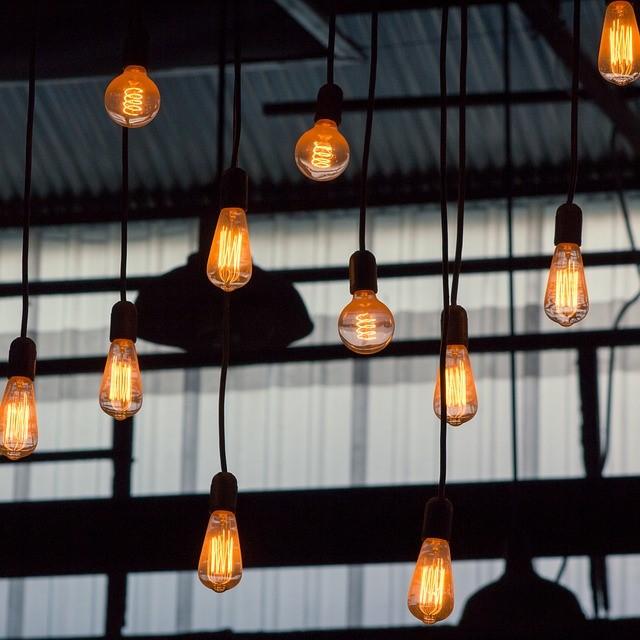 Lámparas originales de techo