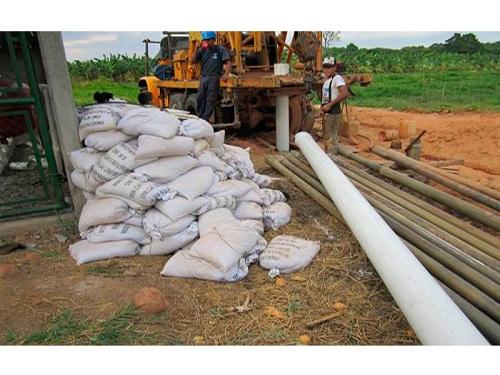 materiales para hacer un pozo de agua