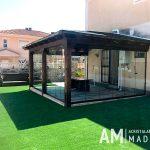 Cortinas de cristal en Madrid: la solución para aprovechar al máximo tu terraza o porche al mejor precio